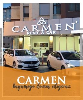 Carmen Araç Kiralama Hizmetleri Yenilendi...